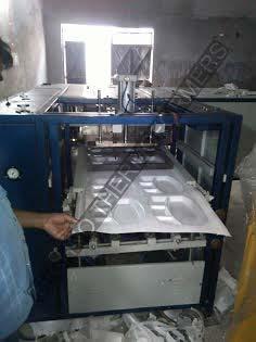 Fully Automatic Thermocol Dona Plate Thali Making Machine