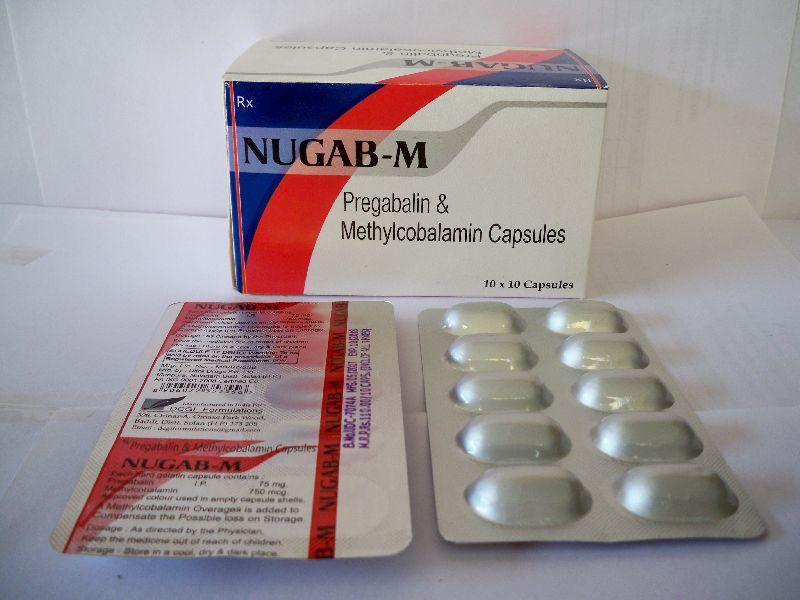 Nugab-M Capsules