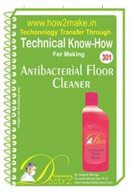 Antibacterial Floor Cleaner Formulation (eReport)