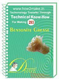Betonite Grease Formulation (eReport)