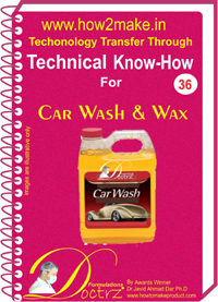 Car Wash & Wax Formulation (eReport)