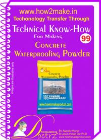 Concrete Waterproofing Powder Manufacturer Supplier in