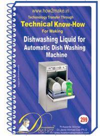 Dishwashing Liquid Formulation (eReport)