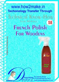 French Polish For Woodens Formulation (eReport)
