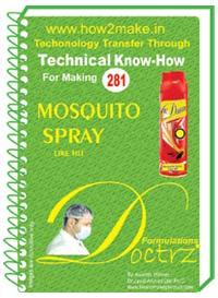 Mosquito Spray Formulation (eReport)