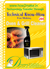 Oven & Grill Cleaner Formulation (eReport)