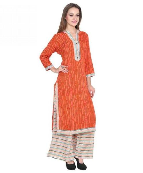 Ladies Kurti with Palazzo Pant