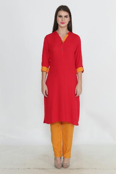 Ladies Kurti with Straight Pant