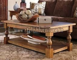 Wooden Center Table 01