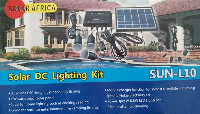 Solar Dc Lighting Kit - Manufacturer Exporter Supplier in China