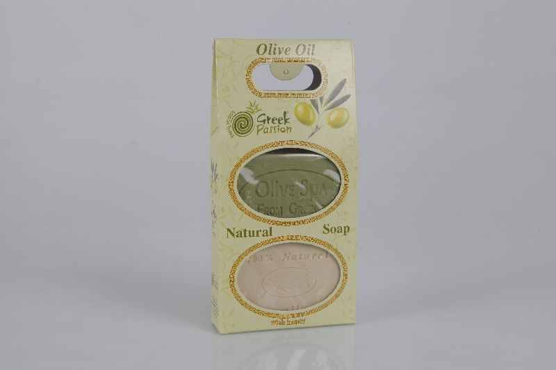 Honey Traditional Olive Oil Soap 01