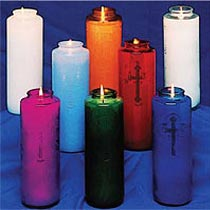 Blow Molded Plastic Candle Holders