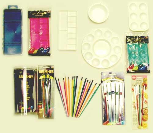 Plastic Arts & Crafts Accessories