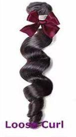 Loose Curl Weft Hair
