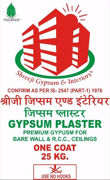 Shreeji Eco-White Gypsum Plaster
