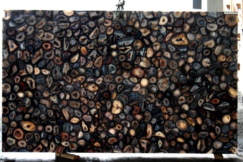 Black Agate Slab 01