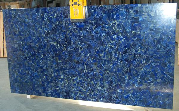 Lapis Lazuli Gemstone Slab 04