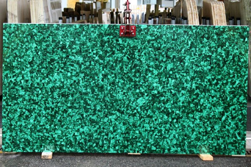 Malachite Gemstone Slab 03