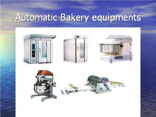Automatic Bakery Equipment