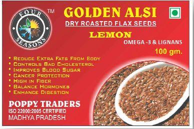 Dry Roasted Flaxseed