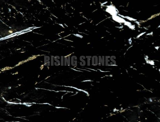 Black Gold Marble Stone