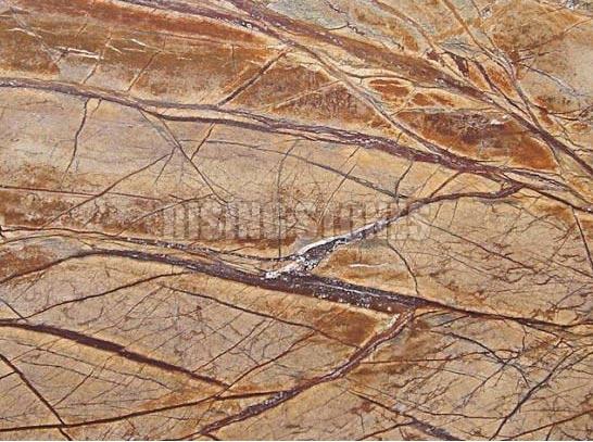 Rainforest Brown Marble Stone