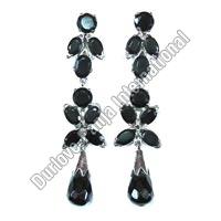 Silver Long Earrings (11gm)