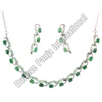 Silver Necklace Set (25gm)