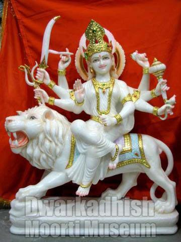 Marble Durga Maa Statues 04