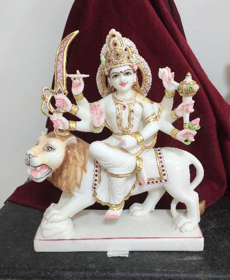 Marble Durga Maa Statues 02