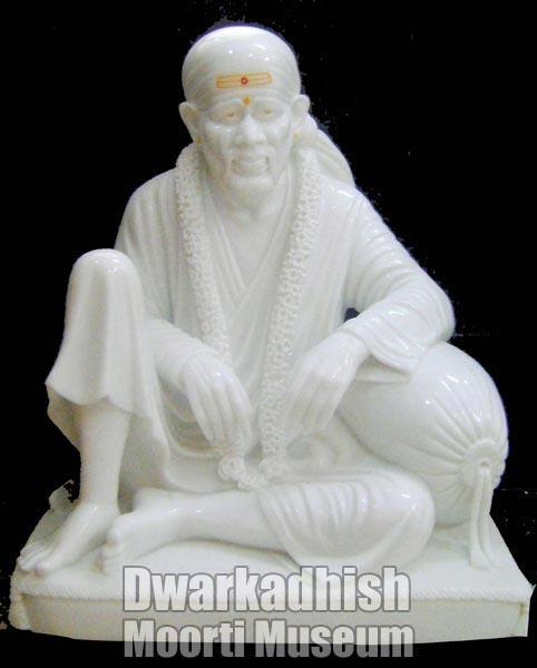 Marble Sai Baba Statue 02