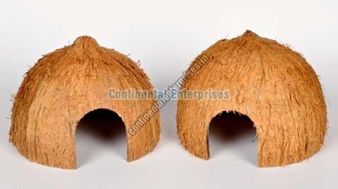 Coconut Shell Huts