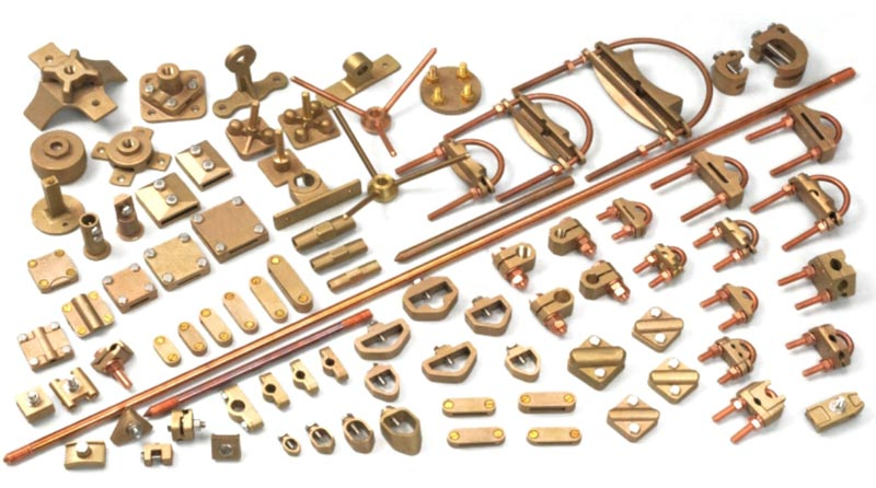 Brass Earthing Rods & Accessories