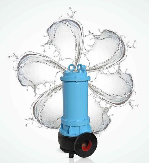 Non Clog Sewage Submersible Pump