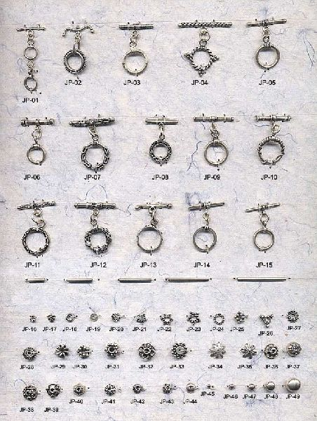 Sterling Silver Beads and Findings