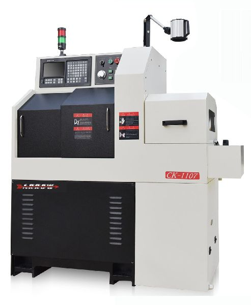 Spindle Movable Type CNC Lathe CK-1107