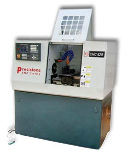Swiss Type 02 CNC Lathe Machine