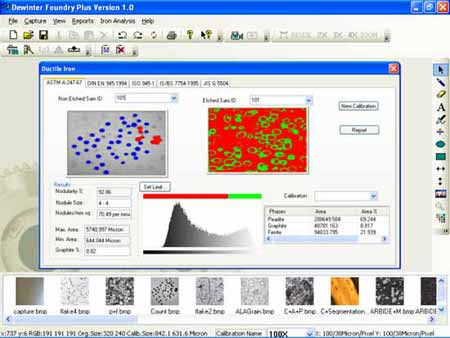 Cast Iron Analysis Software