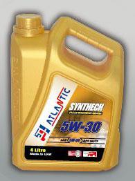 Atlantic 5W-30 Synthetic Engine Oil