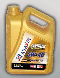 Atlantic 5w40 Synthetic Engine Oil