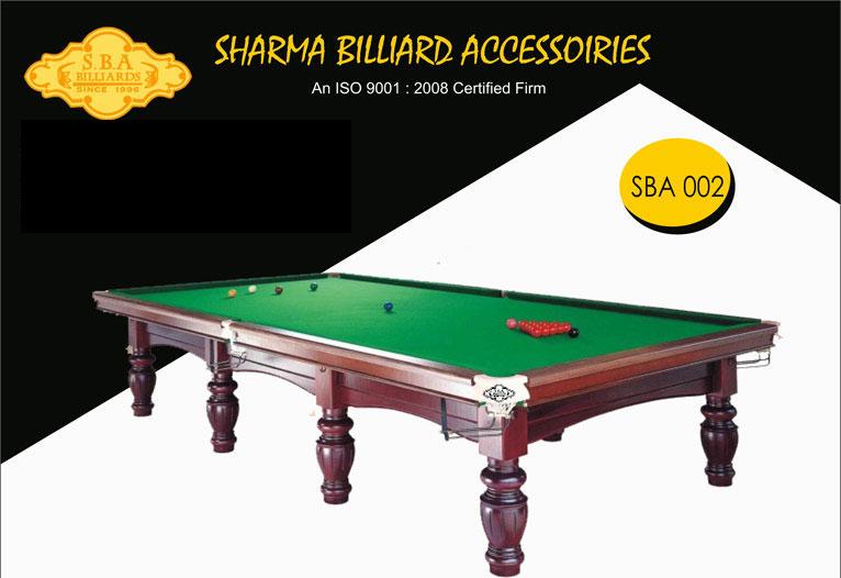 SBA S-002 Snooker Table