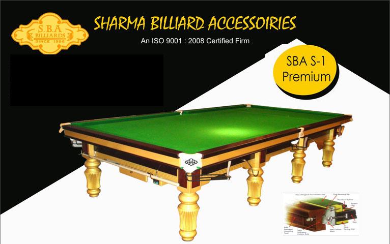 SBA S-1 Premium Snooker Table