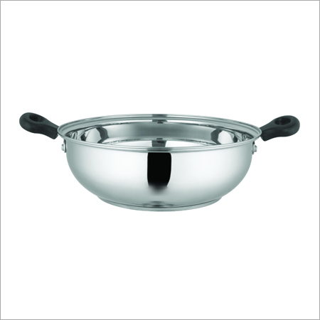 Stainless Steel Medium Induction Base Kadai