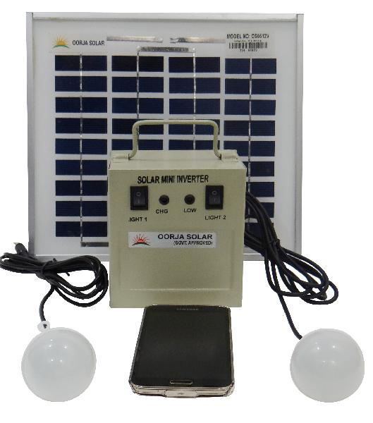 Solar Home Light 2 Leds