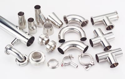 Stainless Steel Pipe Fitting for Food Industry