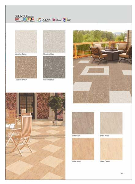 Digital Floor Tiles 300x300 mm