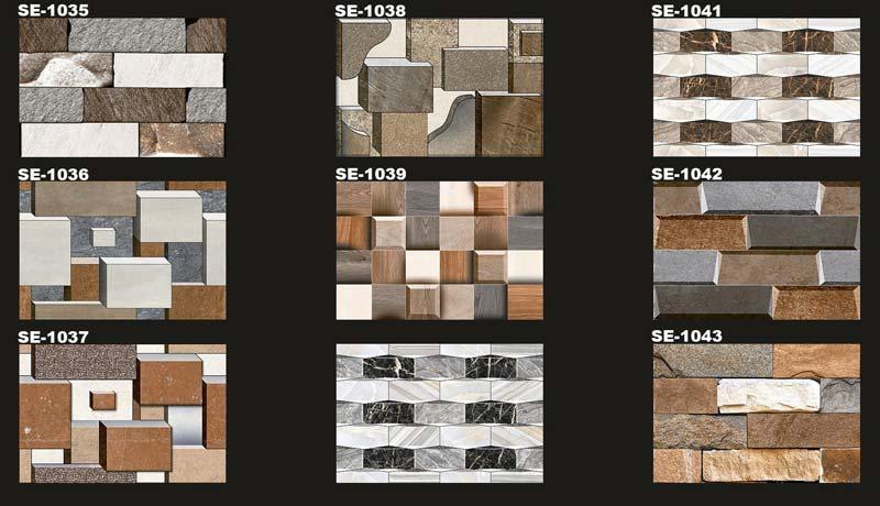 Digital Wall Tiles 300x450mm 06