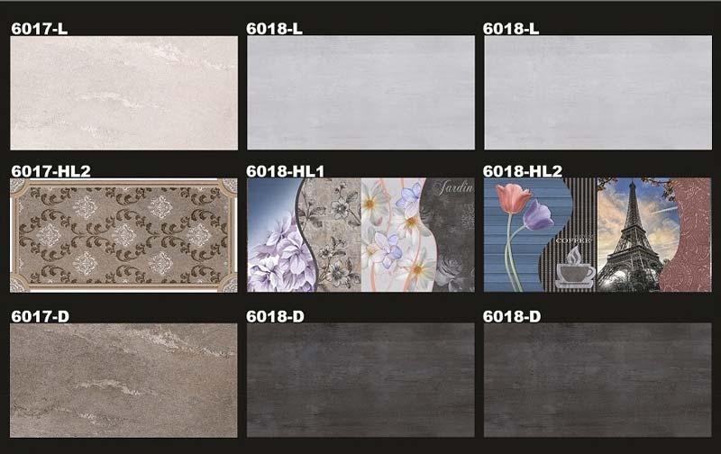 Digital Wall Tiles 300X600mm 02