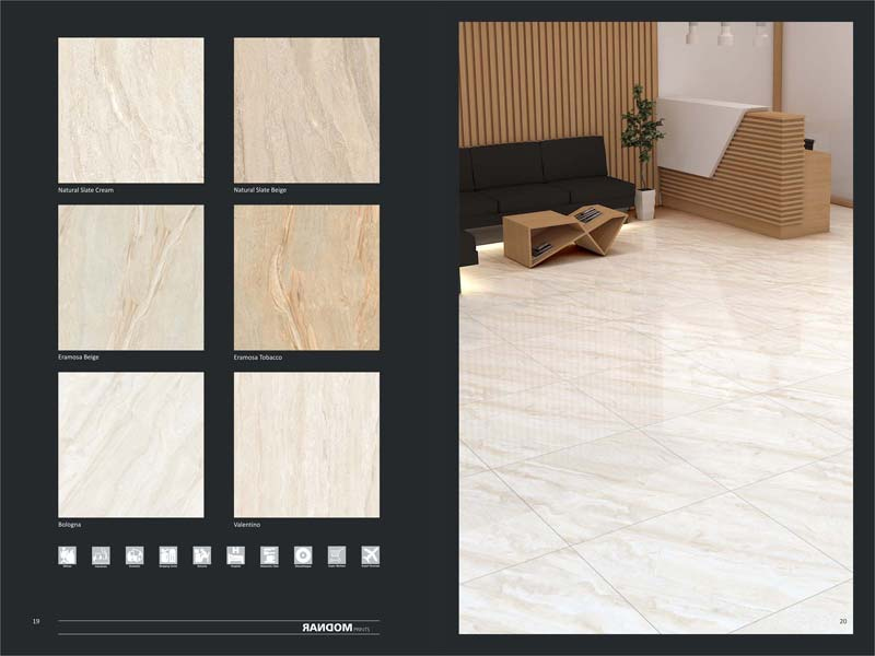 Full Polished Glazed Porcelain Tiles 600X600mm 01