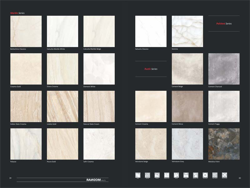 Full Polished Glazed Porcelain Tiles 600X600mm 03
